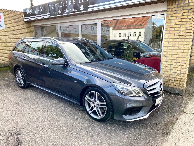 Mercedes E350 3,0 BlueTEC AMG Line stc. aut. 4-M 5d - 429.900 kr.