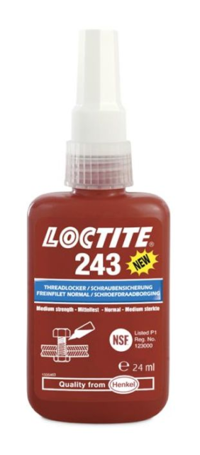 LOCTITE 243 BO 24 ML - Braking threads 1370559