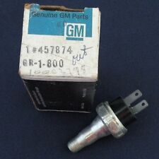 NOS 77 78 79 Chevy Camaro Impala 250 Engine Oil Pressure Switch GM 457874