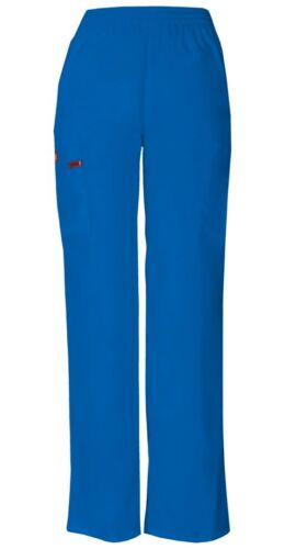Dickies Scrubs Pull-on Elastic Waist Cargo Pant 86106 Royal Blue Dickies EDS