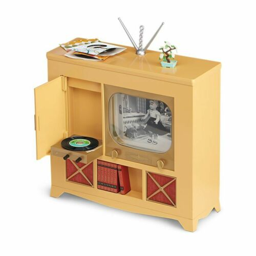 American Girl Doll MARYELLEN TV CONSOLE television entertainment Record player
