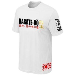 T-SHIRT-KARATE-DO-MARTIAL-ART-JAPAN-COMBAT-SPORTS-Jersey-Siebdruck