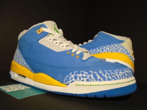 Air Dtrt Goud 10 Iii Cement Jordan 5 Nike Retro Ls Brisk 2007 Blauw 3 Groen Wit kXZOPiTu