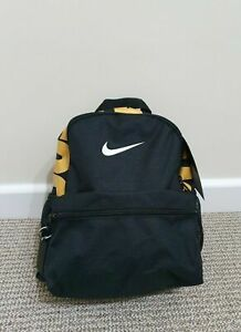 Motivación Musgo Asesor  Nike Just Do It Negro Mochila Morral Bolso De Gimnasio Escuela Pe Kids  Junior Chicos Niño | eBay