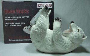 Details about 20cm Polar Bundy Drop Bear Bottle Holder NEW POLBOTTL Poly  Resin 9319844564663