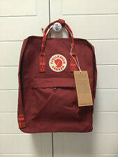 Fjallraven Kan ken Classic 16L Wine red Backpack School Waterproof Canvas Bag