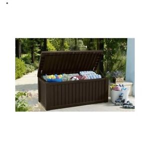 Image Is Loading Patio Storage Bench Outdoor Waterproof Large Deck Box