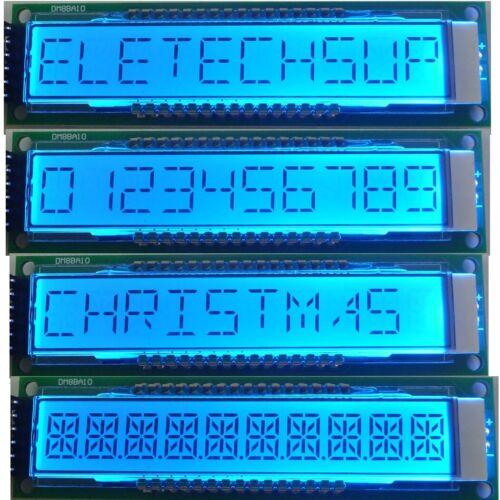 DM8BA10  10bit 16-seg SPI LCD Display Board Digital Tube LED Module