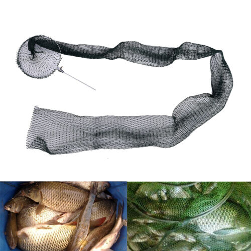 Fishing Net Trap Fishing Mesh  Folding fish Bag Small Fishing Tackle Mesh Bag TO