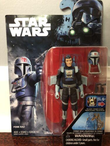 "3.75/"" Bonecos-Fenn Rau-Novo Lacrado Star Wars"