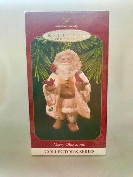 1997 Hallmark Ornament Merry Olde Santa 8th In Series Brand New