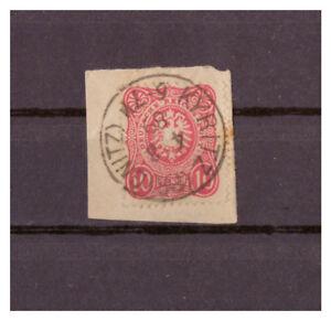 Empire-Allemand-Minr-41-B-K-1-Kyritz-Prignitz-04-08-1889-Verifie-Signe