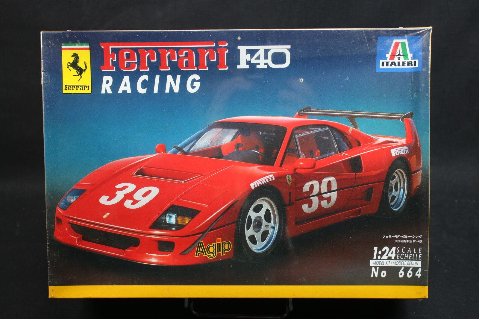 XW103 ITALERI 1 24 maquette voiture 664 Ferrari F40 Racing - Ptitoys