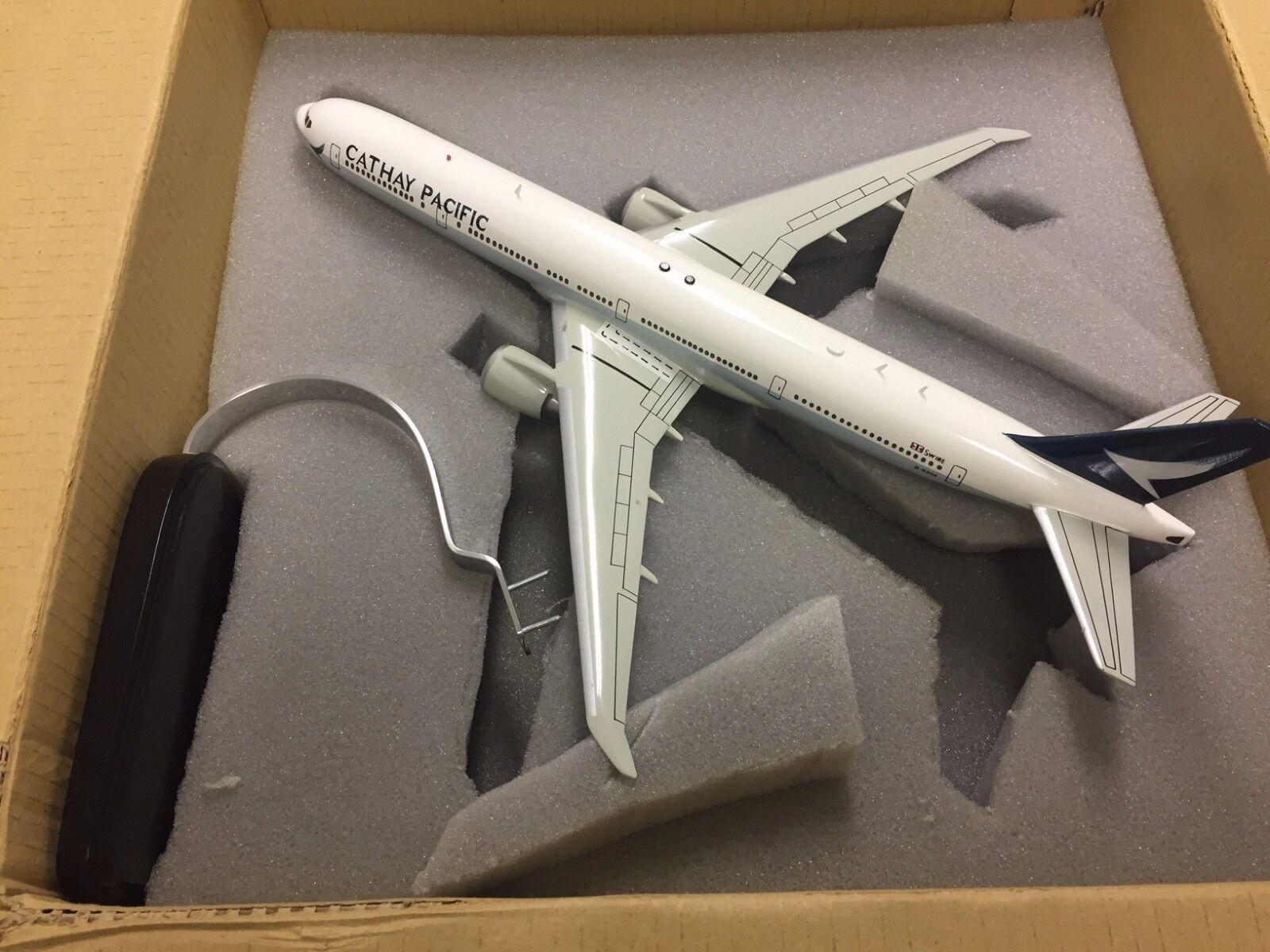 Boeing b777-300 egli NEW Cathay Livery - 1:172 - Modello di aereo modello stand-NUOVO