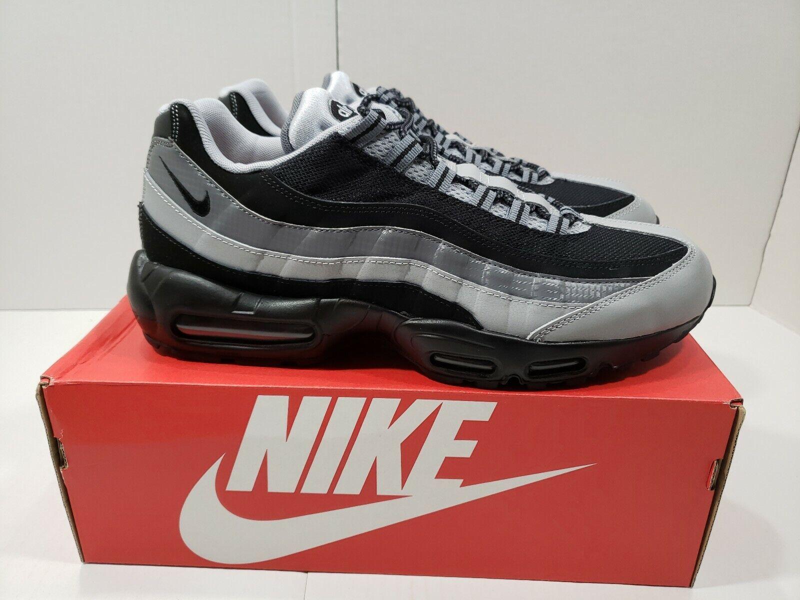 0c16ac94ada Nike Air Max Max Max 95 Essential Black Wolf 749766-005 Size 13 Brand New
