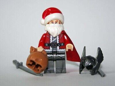 Santa Batman Christmas Bruce Wayne DC Mini Action Figure Toy Lego Moc