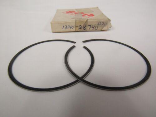 GENUINE NOS Suzuki RM125 TM125 Piston Ring Set 12140-28740-050