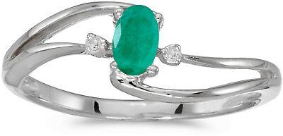 CM-RM1678XW-01 14k White Gold Oval Garnet And Diamond Ring