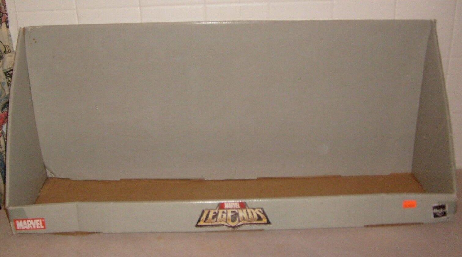MARVEL Leggende autodate HASBRO WALMART cifra Mensola di visualizzazione molto rara  2008