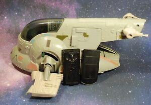 VINTAGE-STAR-WARS-COMPLETE-BOBA-FETT-039-S-SLAVE-1-KENNER-1980-WORKS-one