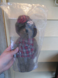 NWT Boyds Bears LIZZIE WISHKABIBBLE DAY WITH BOOK, Collectors Edition In Bag