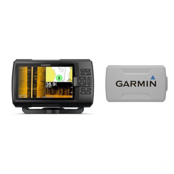Garmin Striker Plus 7sv With Cv52hw-tm Transductor y Cubierta Projoectora Lote