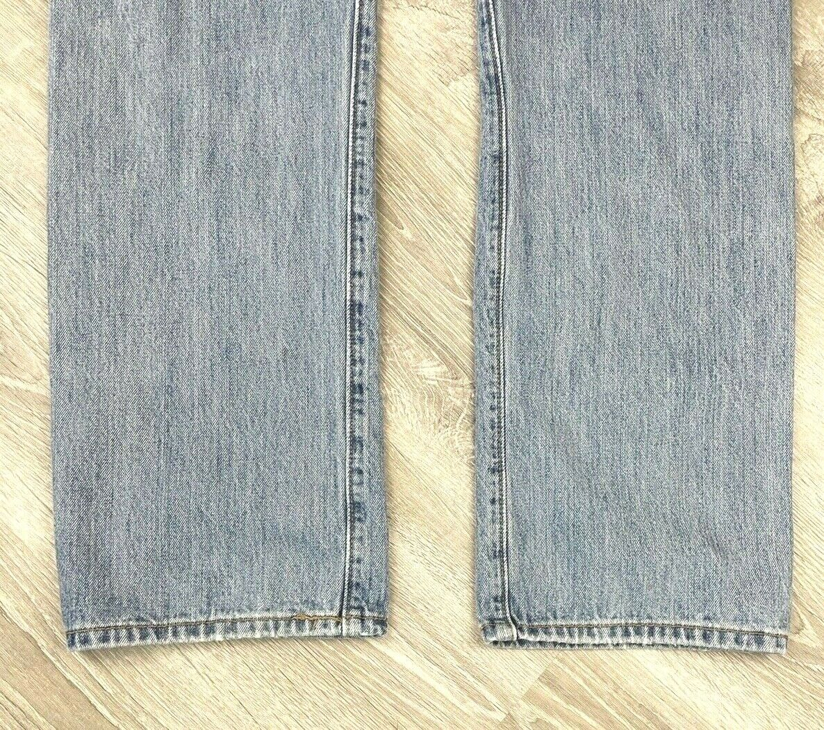 Levis 501 Jeans Mens Distressed Worn In MEASURES … - image 5