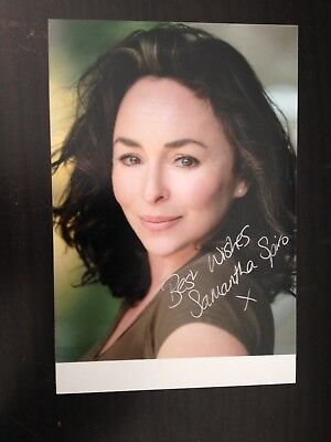Samantha Spiro Popular British Actress Dr Who Excellent Signed Photograph Ebay