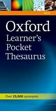 Oxford Learner's Pocket Thesaurus, Varios, Good Book