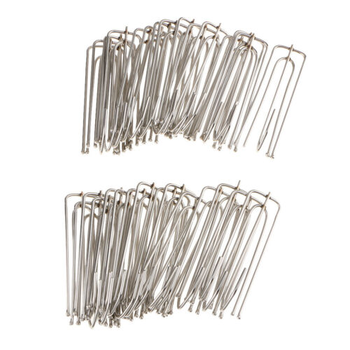 30Pieces Curtain Pleater Tape Hooks Stainless Curtain Pleat Hook Pinch Pleat