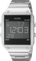 GUESS Men's U0596G1 Digital Alarm, Dual Time Zone & Chronograph / Stop Watch