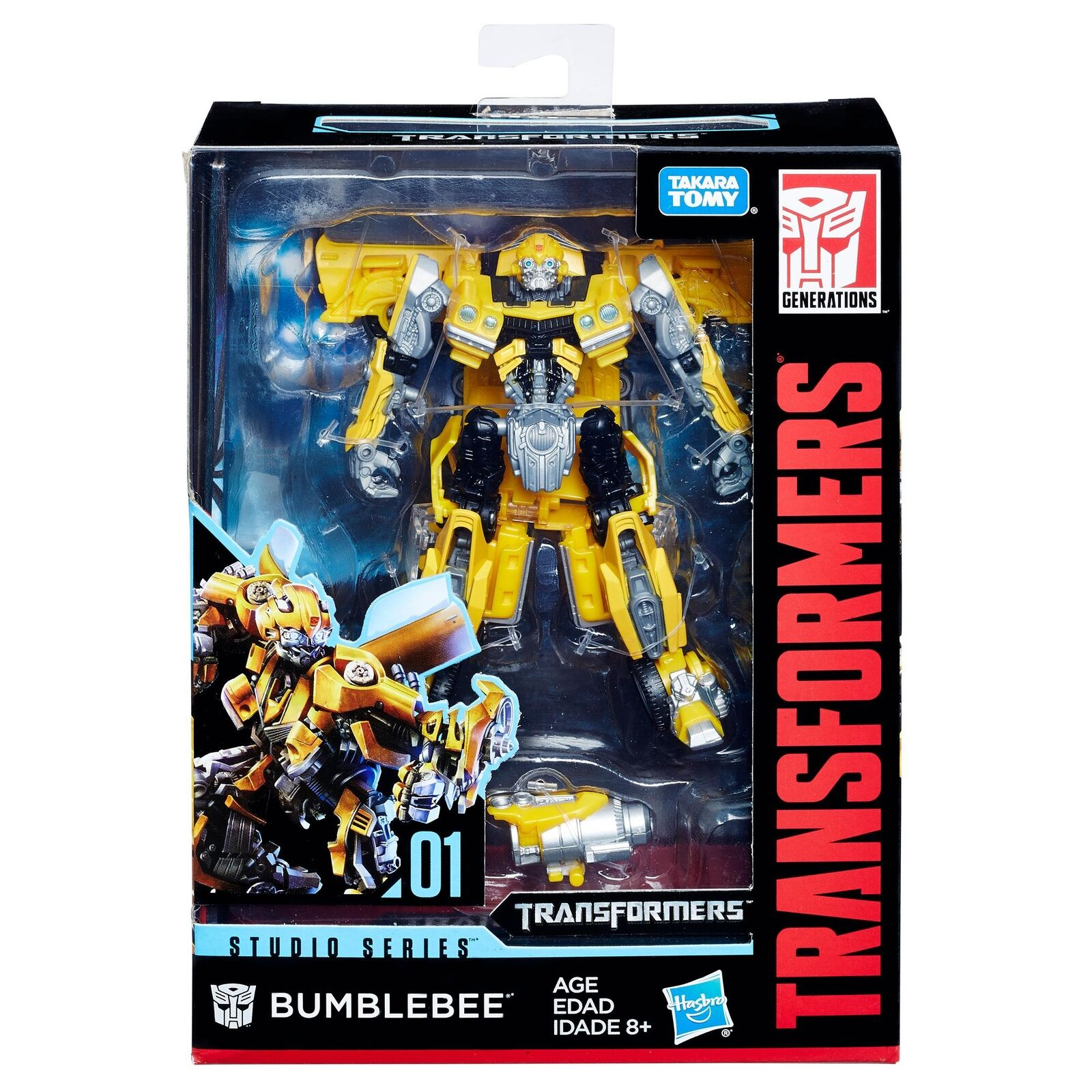 Hasbro Transformers Studio Series Deluxe Class Movie Bumblebee