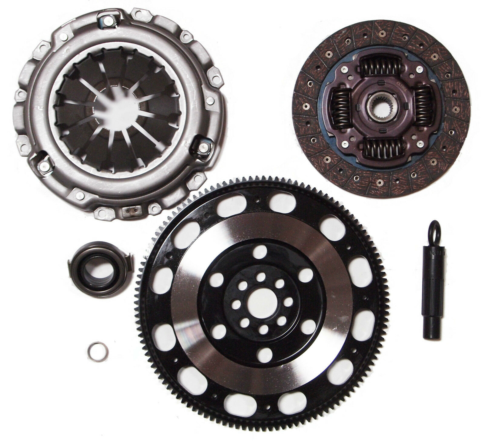 QSC Stage 1 Clutch & Chromoly Flywheel Kit For ACURA RSX