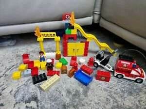LEGO Duplo Fire Station Pieces
