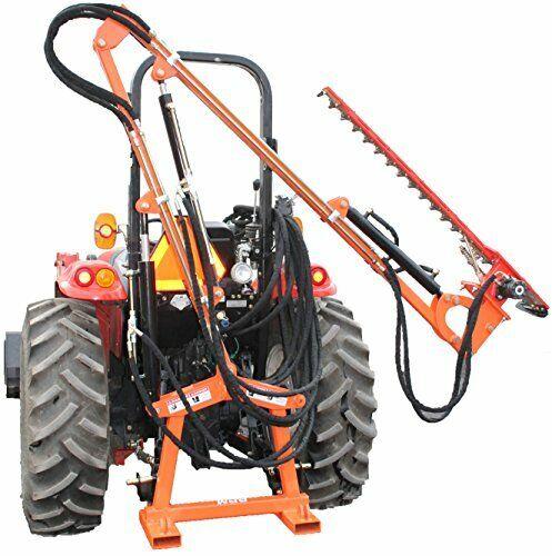 Hydraulic Boom with 6′ Sickle Brush Mower FH-BRM180