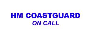 HM Coastguard on call Sticker Lifeboat Rescue Search /& Rescue 600mm