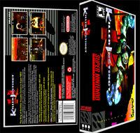 Killer Instinct - Snes Reproduction Art Case/box No Game.