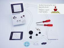White Nintendo Game Boy DMG-01 Classic Housing Case Shell Pi Retropie GMZ lens