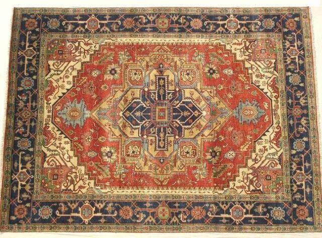 Herat Oriental Indo Fl Wool Rug