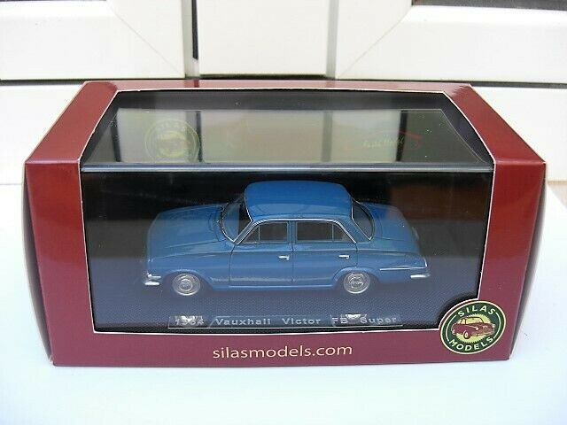 Vauxhall Victor FB super 1964 Silas SM43045A MIB 1 43 Opel holden chrysler ford