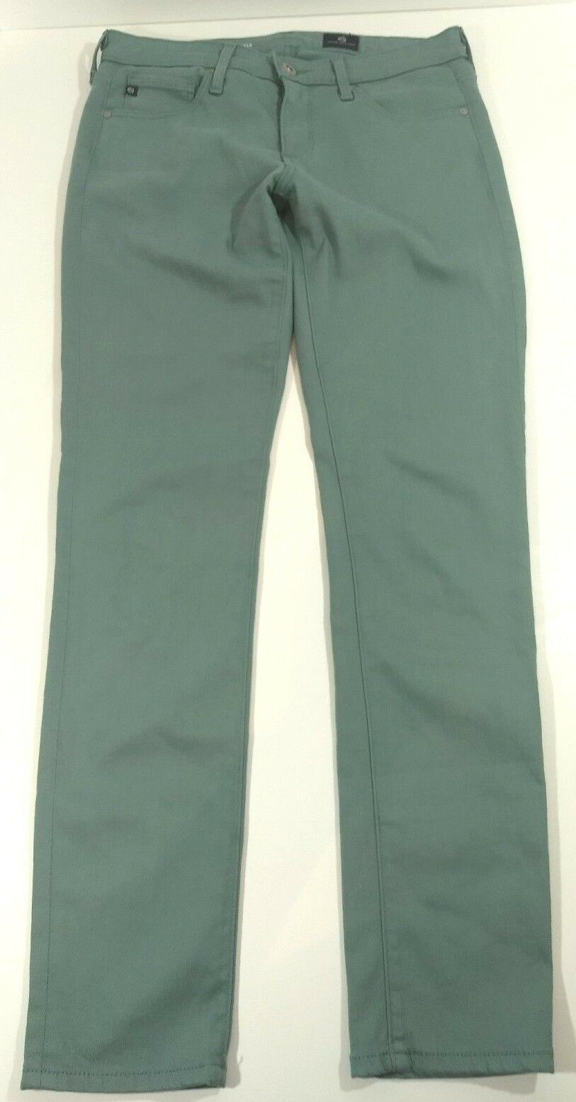 AG Adriano goldschmied The Stevie Ankle Stretch Pants Light Green Size 29R