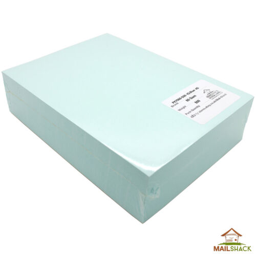 500 Sheets A5 BLUE Coloured Paper 80gsm Colour Craft Printer Copier Inkjet Reams