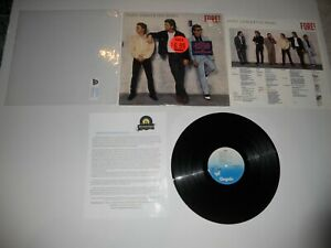 Huey-Lewis-and-the-News-Fore-Masterdisk-RL-1st-039-86-EXC-USA-ULTRASONIC-Clean
