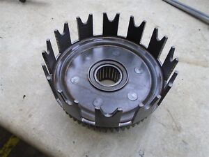 Kawasaki-500-H1-TRIPLE-H1-Used-Engine-Clutch-Basket-1974-WD-KB112