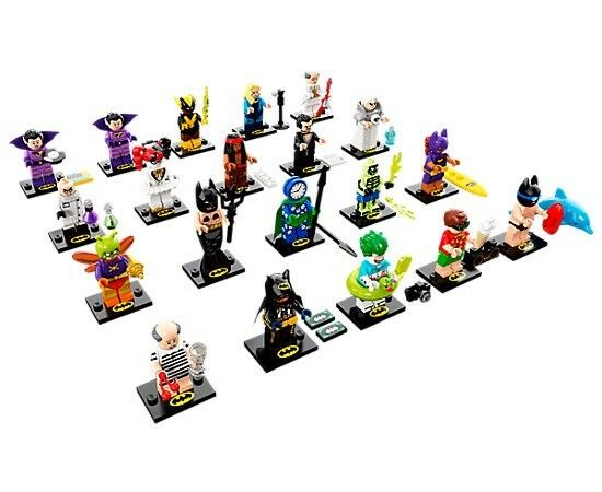 LEGO MINI FIGURES BATMAN MOVIE SERIES 2  - FULL SET OF 20 FIGURES - RE-SEALED