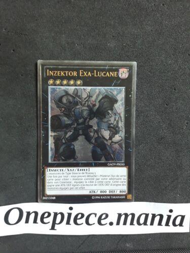 Carte YU GI OH INZEKTOR EXA-LUCANE GAOV-FR050