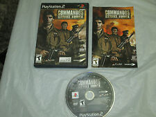 Commandos: Strike Force  (PlayStation 2, PS2) complete 3
