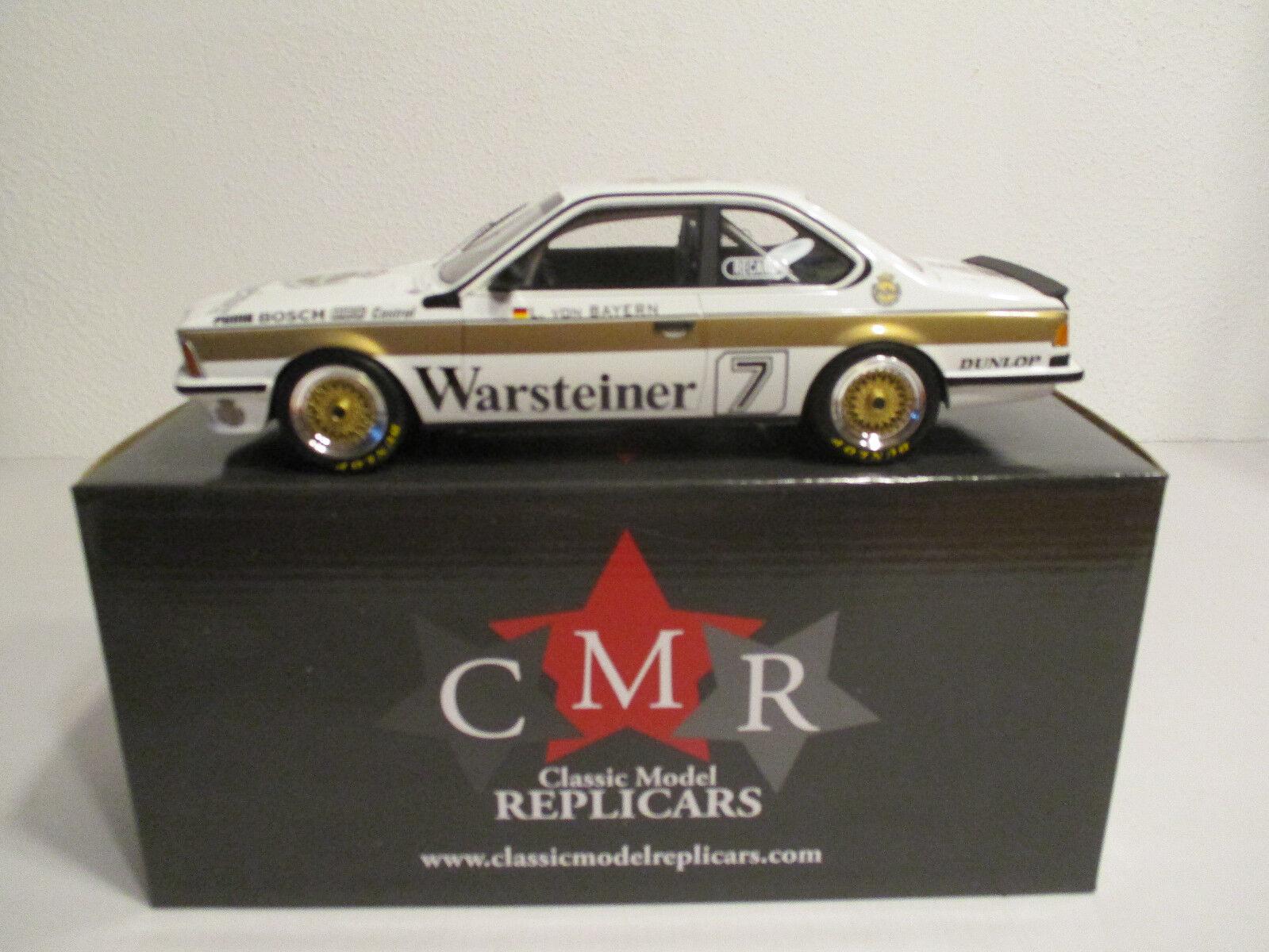 ( Gok ) 1:18 Cmr BMW 635i #7 Dpm 1984 Prinz L.Von Bayern Nuovo Conf. Orig.