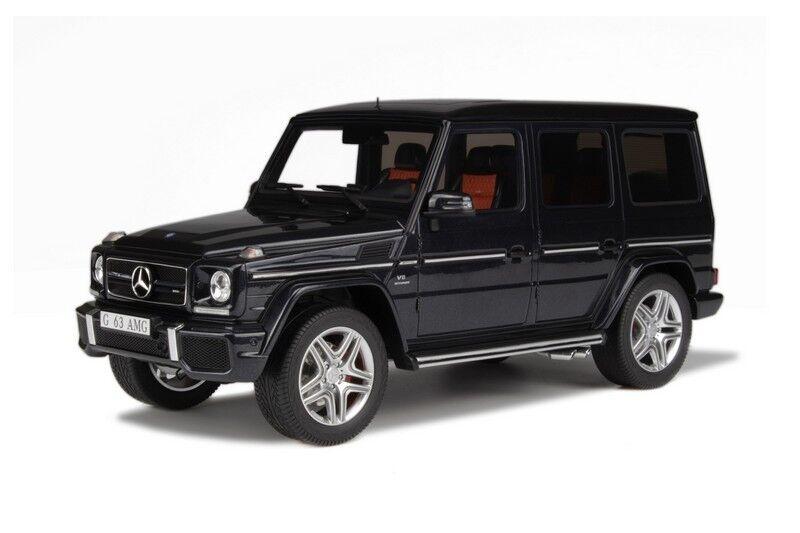 GT anda 2013 Mercedes Benz G63 AMG Dark grå 1 18 Ny Sista Herregud