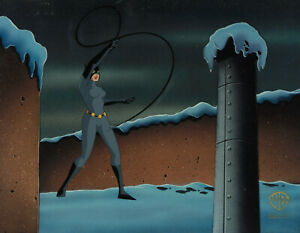 Batman Animated Series- Original Production Cel- Catwoman-Bane
